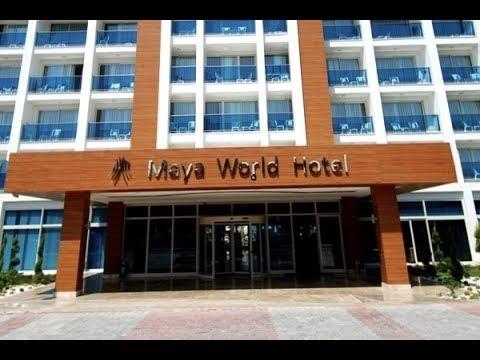 Maya World Hotel Side обзор отеля и прилегающей территории