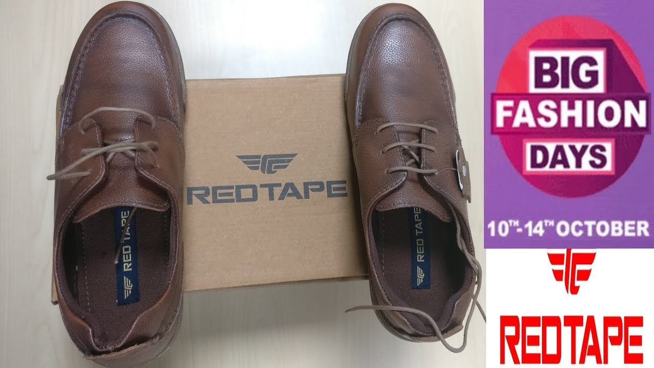 9cfc6c7da75 Red Tape Leather Shoes