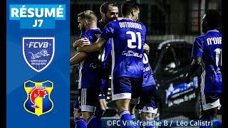 J7 : FC Villefranche B. - SC Toulon (2-1), le résumé I National FFF 2019-2020