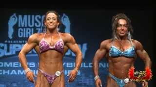 Womens Bodybuilding Finals Toronto Pro Super Show 2013