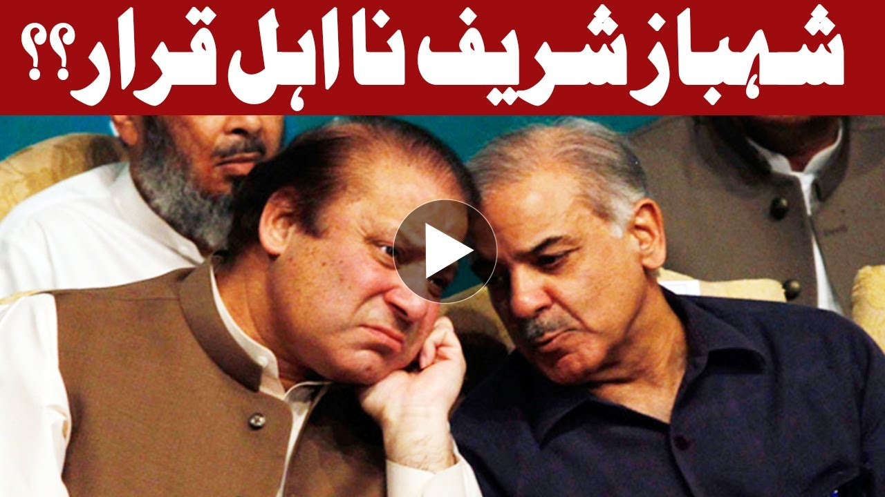 PTI to file disqualification reference against Shehbaz ...