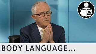 Body Language: Malcolm Turnbull Drought, Global Warming & $443m Reef Grant