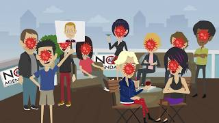 Animated No Agenda - Stop Celebrating the Low Death Rate!