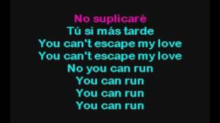 Escape Spanish Enrique Iglesias Karaoke