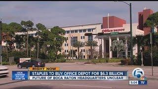 Staples to buy Office Depot for $6,3 billion