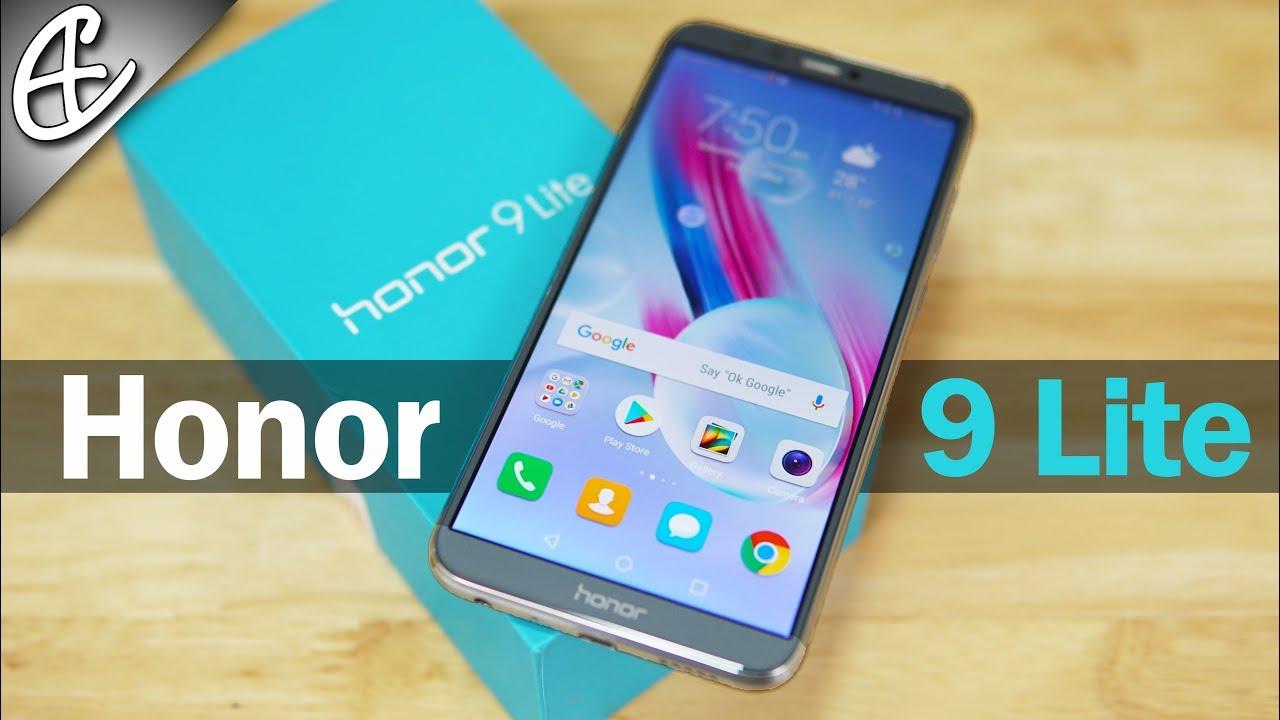 Huawei Honor 9 Lite - Unpacking!