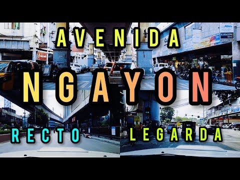 ANO NA BA ANG ITSURA? AVENIDA, SANTA CRUZ UPDATE! RECTO & LEGARDA, MANILA! SIGHTSEEING TOUR 4-15-21