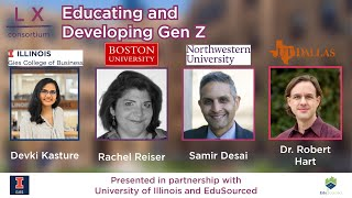 Expert Panel Discussion: Educating Gen Z LX Consortium