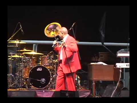 Lenny Williams performs live..
