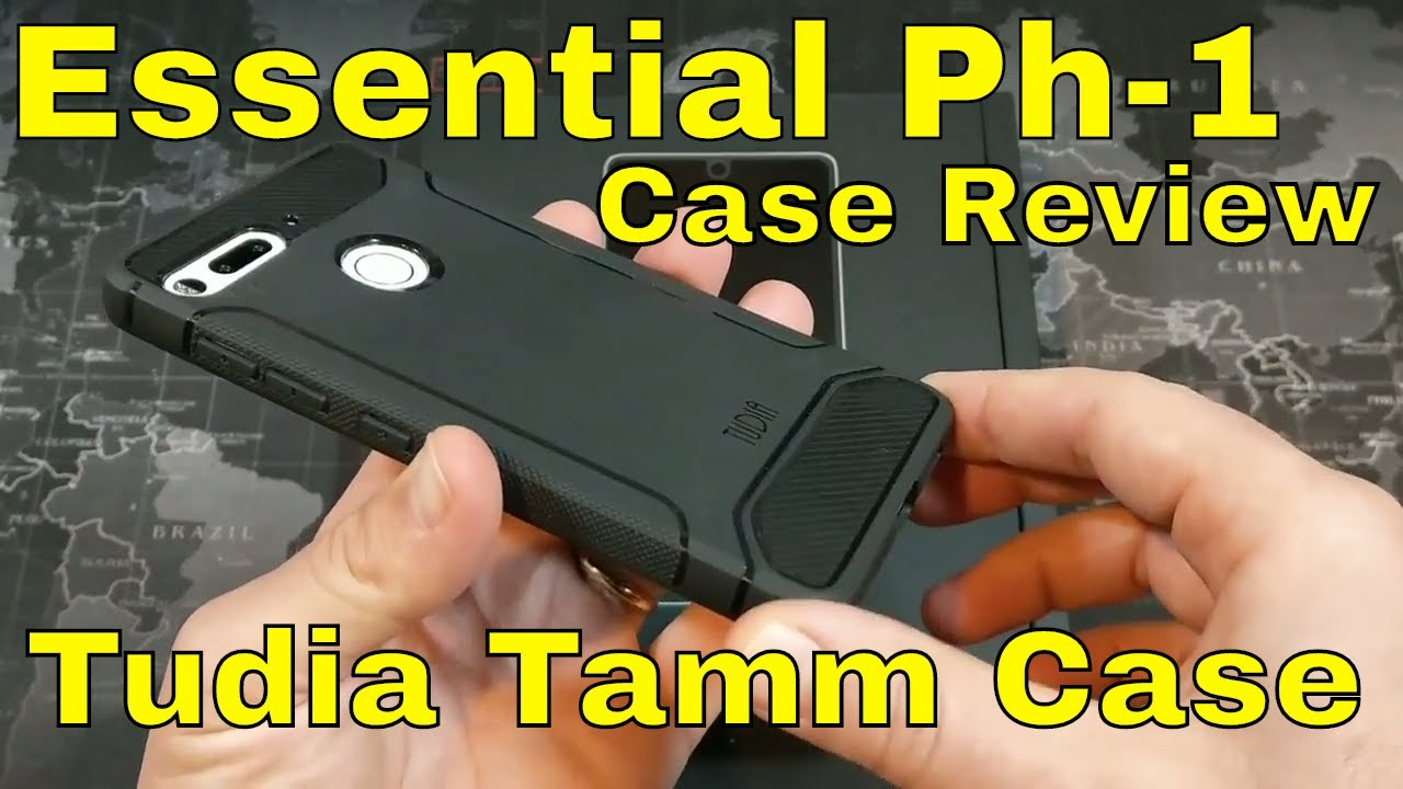 online retailer 120bb 4acf3 Essential Phone (Ph-1) Case Review: The Essential Case from Tudia?