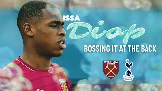 ISSA DIOP BOSSING IT AT THE BACK VS TOTTENHAM HOTSPUR