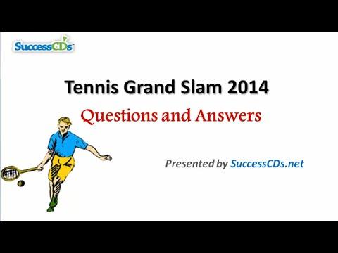 Tennis Grand Slam 2014 Winners   General Knowledge (GK) Videos
