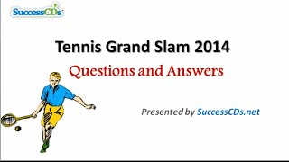 Tennis Grand Slam 2014 Winners | General Knowledge (GK) Videos