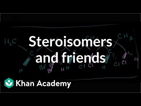 Stereoisomers, enantiomers, diastereomers, constitutional isomers and meso compounds | Khan Academy