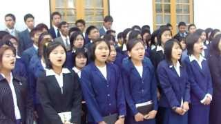 Timothy Bible School Choir Sunset is coming but Sunrise we