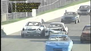Flamboro Speedway, Oktoberfest Classic, October 22, 2000  Thunder Car Race