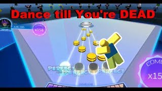 Roblox RoBeats | My attempt at Dance Till You're Dead (REMIX | HARDER VERSION)