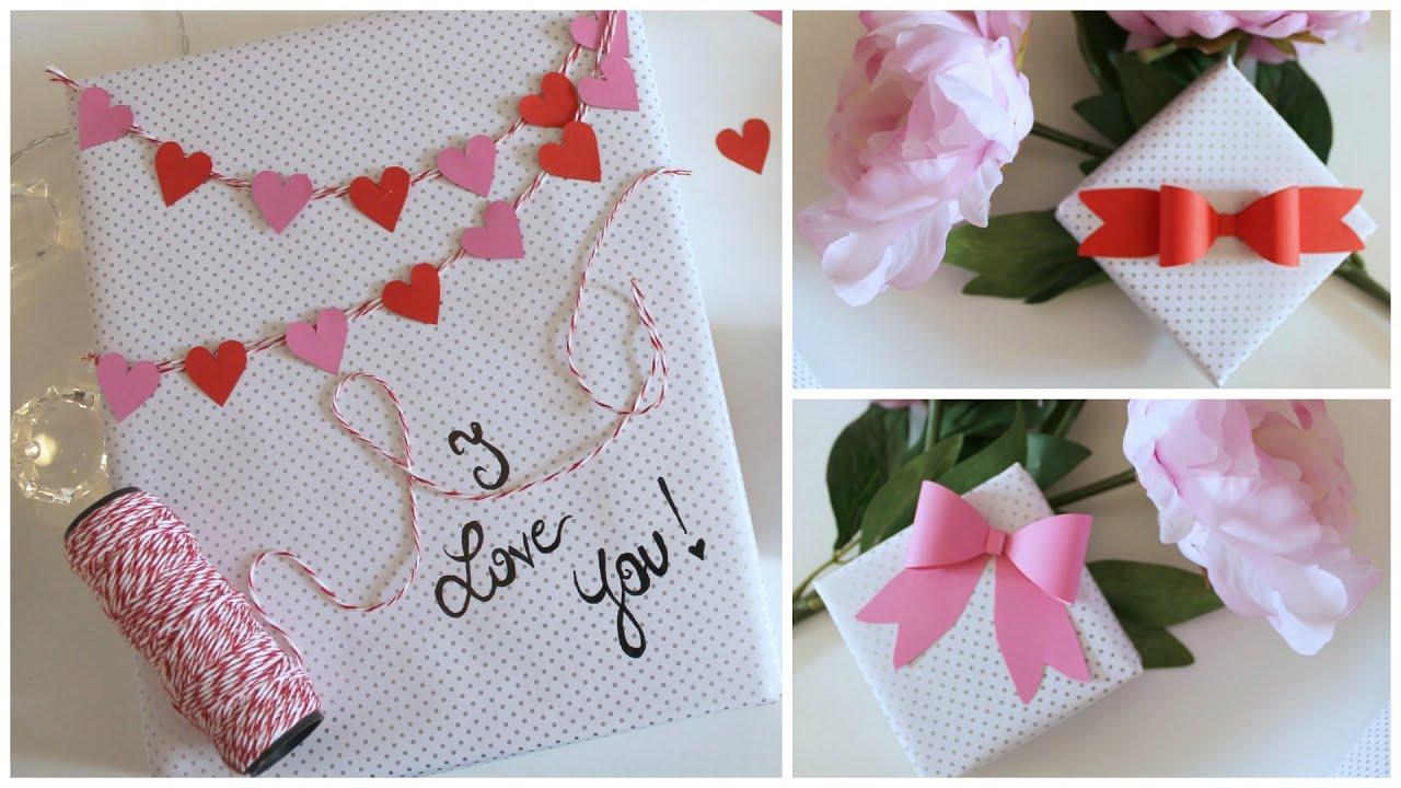 Idee per impacchettare i regali di san valentino for Idee per regali