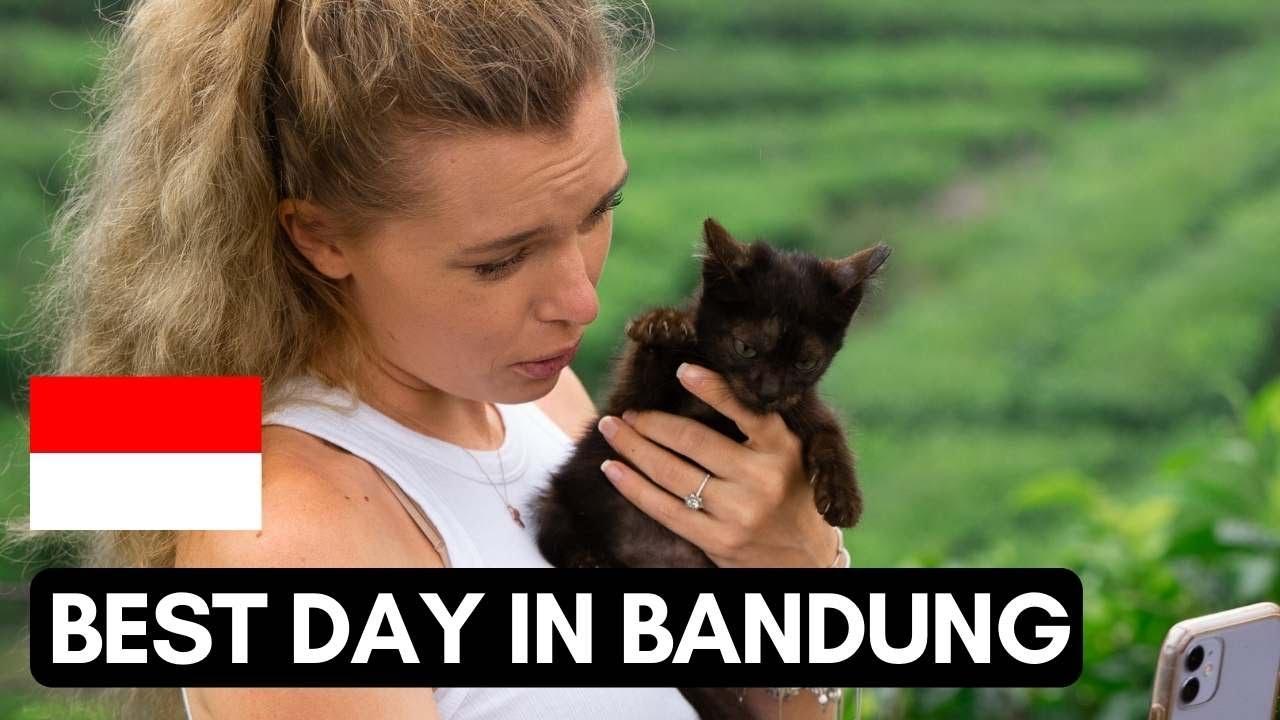 Our BEST day in BANDUNG | Sukawana TEA plantation | #Vlog 113