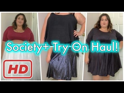 Society Plus Try On Haul! | Plus Size Fashion