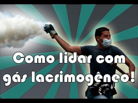 Como lidar com as bombas de gás lacrimogêneo