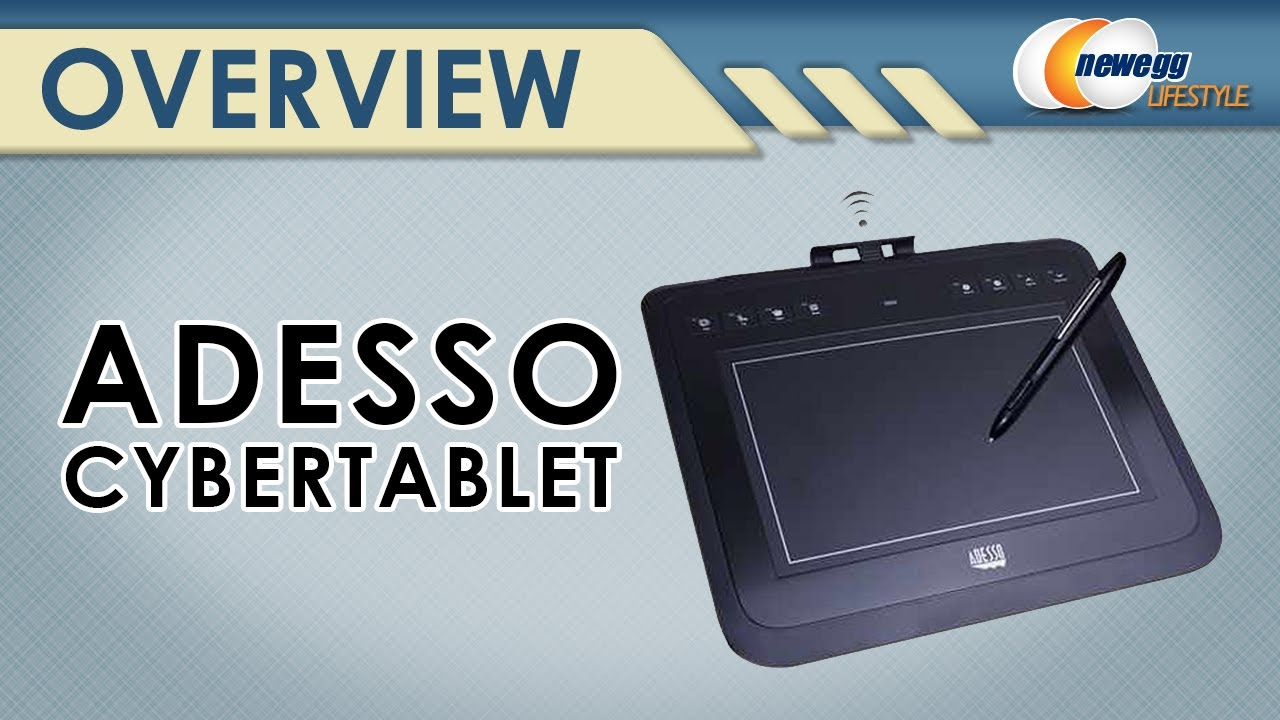 Adesso CyberTablet Z12 Widescreen Graphics Tablet Drivers for Windows