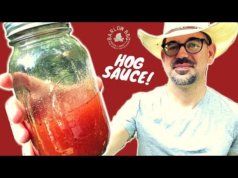 BARLOW BBQ HOG SAUCE | Carolina BBQ Sauce | Pulled Pork Sauce Recipe | Barlow BBQ