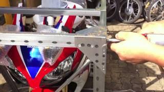 2010 CBR1000RR HRC Unboxing shot entirely with an iPhone 4. thumbnail