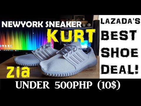 LAZADA UNBOX! New York Sneaker KURT & ZIA Shoes : Best Slip-Ons!