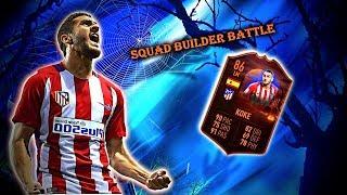 FIFA 19: Squad Builder Battle Scream Card Koke Vs FJFA