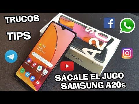 SAMSUNG GALAXY A20s  ✅ Sácale el JUGO con estos TIPS y TRUCOS📲📲 #Samsung