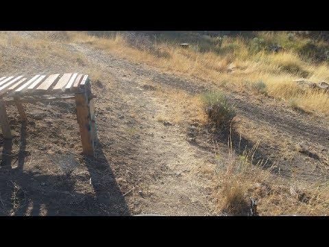 building a wooden mtb gap drop and testing it