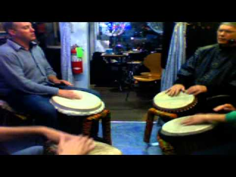 Russell Buddy Helm Drumming Meditation 2 April 17, 2012 06:49 PM