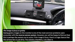 Reversing Camera Troubleshooting Tips