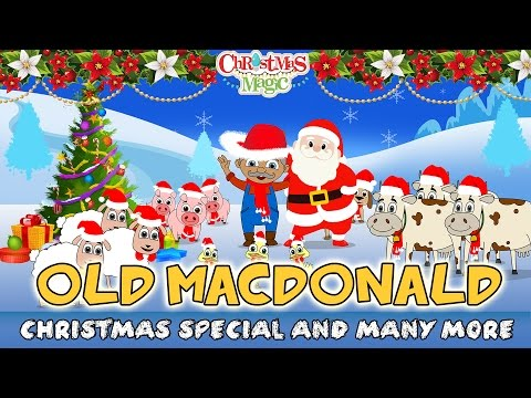eieio old macdonald , Jingle Bells & more | Christmas Songs for Kids | Nursery Rhymes 2016
