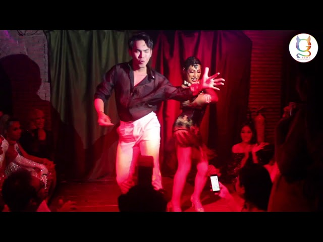 Sunday Gay Night at MaggieChoo's PanginaHeals' B-Day PartyTheme See Through AnneeMaywong LuckyGirl