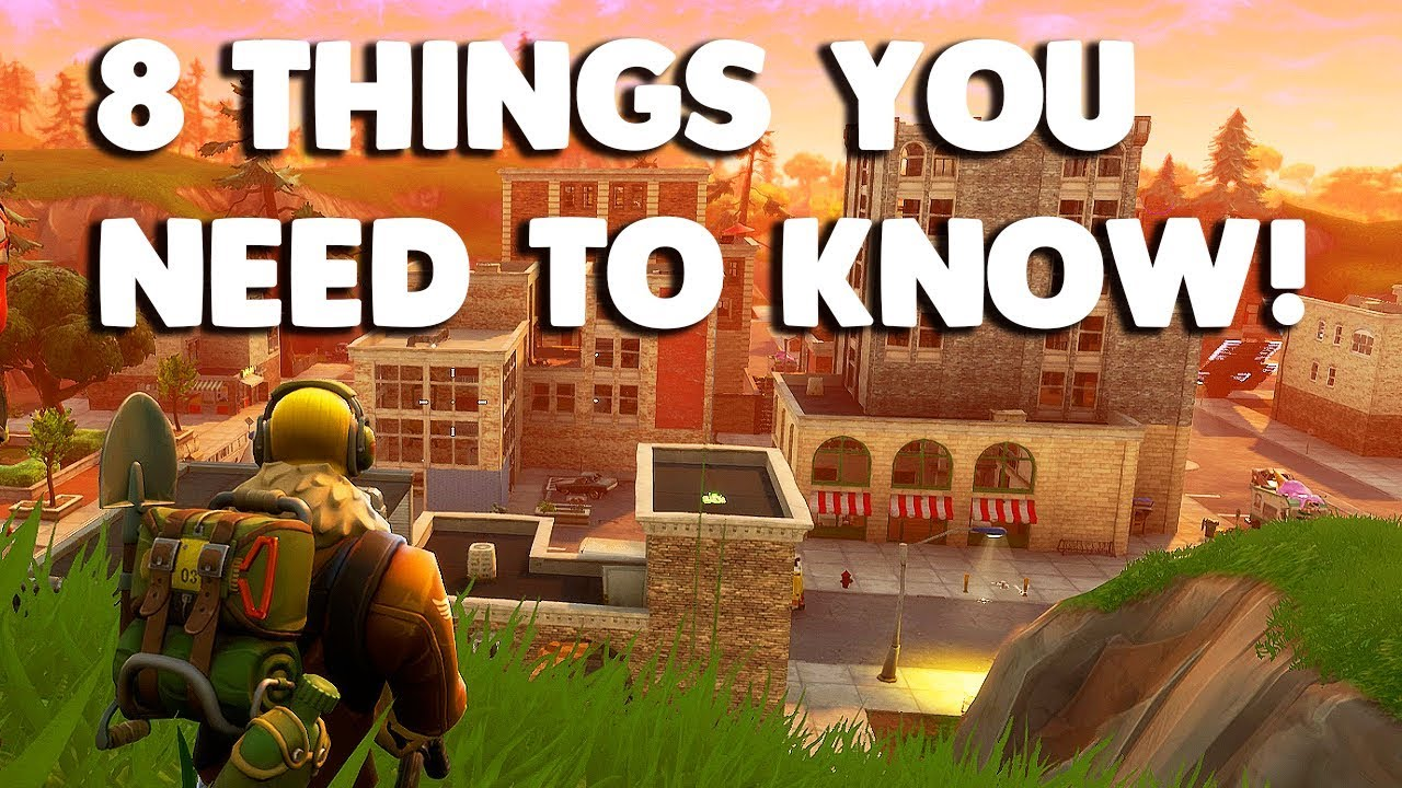 8 NEW Things You Need To Know About The Fortnite Battle ...