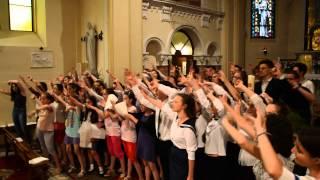 Chor Gimnazjum i Liceum Sióstr Prezentek in Veszprém 4. (Gospel)