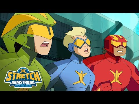 Stretch Armstrong and the Flex Fighters - 'Villains of Charter City' Official Mashup