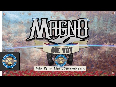 Magno | Me Voy (Lyric Video)