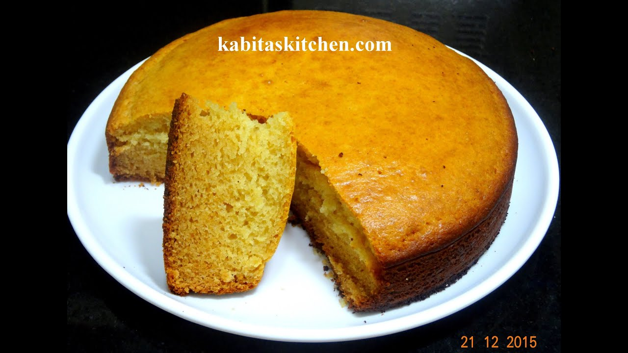 eggless sponge cake recipe how to make perfect basic