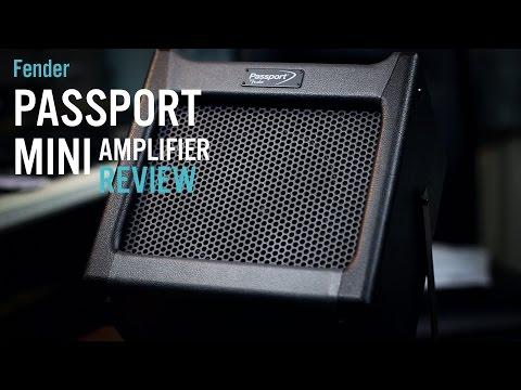 Fender Passport Mini Portable Amplifier Review