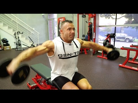 Top 7 side lateral raise variations with Nick Jones