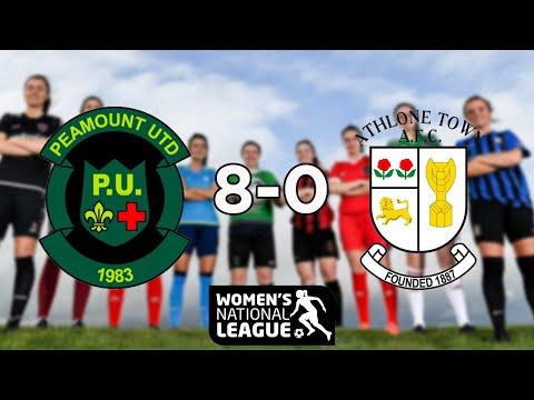 WNL GOALS GW5: Peamount United 8-0 Athlone Town
