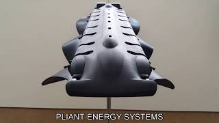 Pliant Energy Systems - Swimming Robot Amphibian