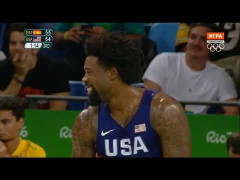 USA vs Spain — Semifinal   Full Game Highlights   Rio 2016 Olympics Basketball