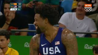 USA vs Spain — Semifinal | Full Game Highlights | Rio 2016 Olympics Basketball