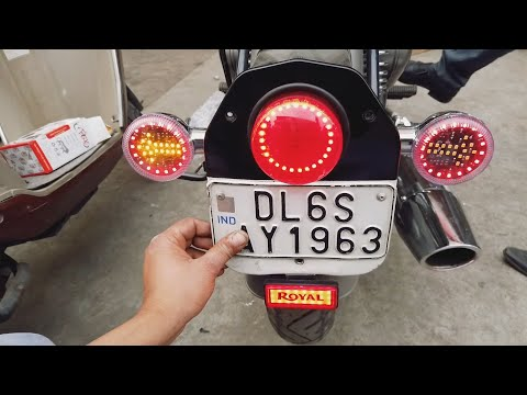 Installing Indicator On My Bike - King Indian