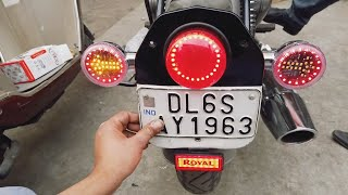 Glow Your Bike With Led Indicators For Royal Enfield - King Indian