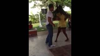Dancing in el puñal Dominican Republic